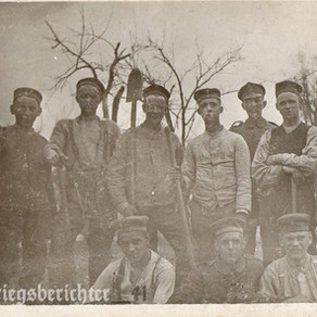 In the field Pionier Regiment 1916