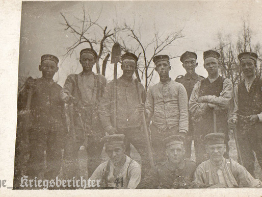 In the field Pionier Regiment 1916