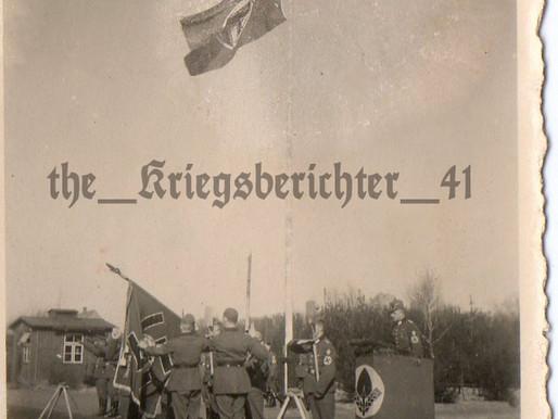Pre War Reichsarbeitsdienst Ceremony Grouping