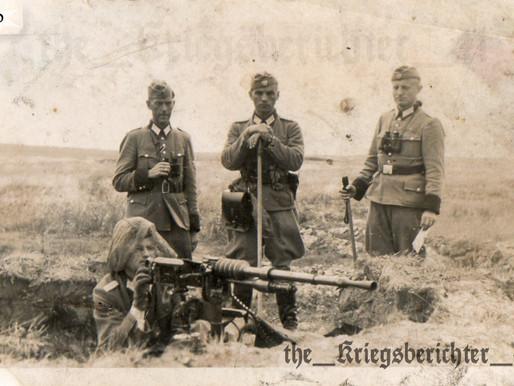 """""""Kuriositäten des Krieges""""~ In the Field Polizei"""
