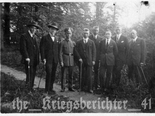 A Reichswehr Reiter of the 5. Kavalrie-Regiment d. with Friends in August 1925