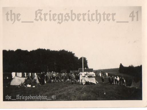 A HitlerJugend CVJM Zeltlager 1933