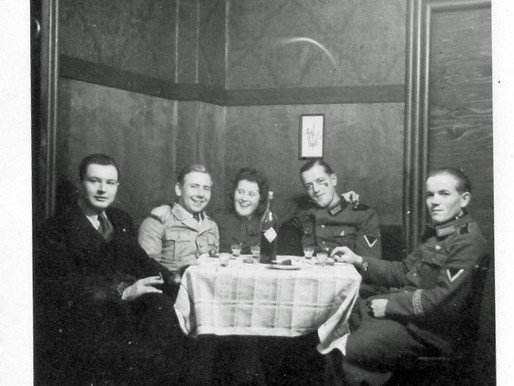 DAK Reunion in a Café 1943