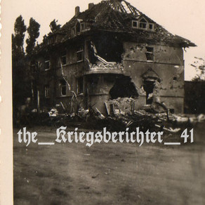 A Soldaten's Experience Of A Destroyed House