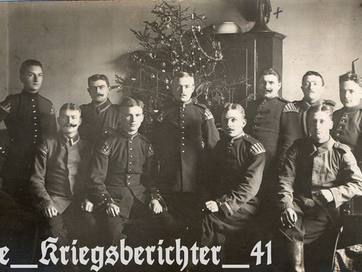 Weihnachten Musicians of the 7th Baden Infantry Regiment