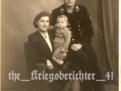 Studio Portrait of the Schliebs Family in Aurich 1942