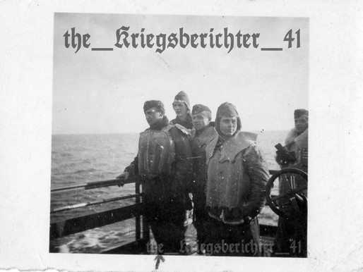 Räumboote Sailors in the Black Sea