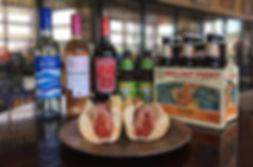 Beer, Food and Wine Display