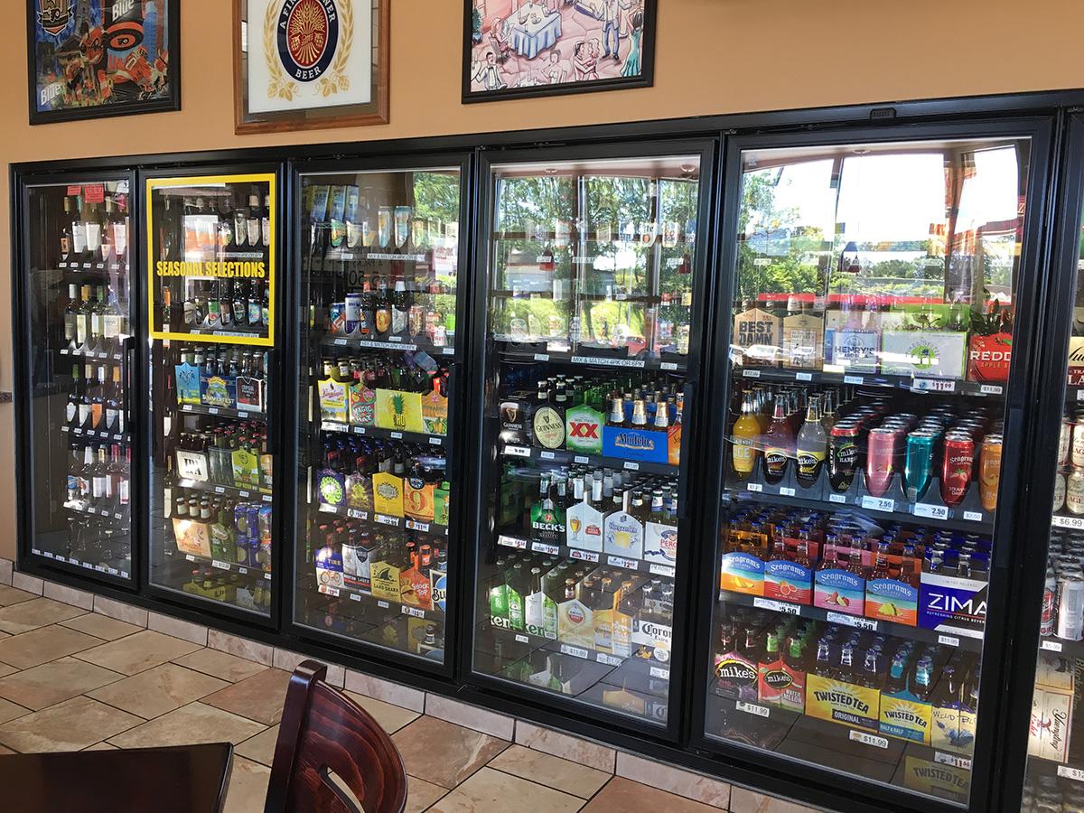 Beer Display Cases