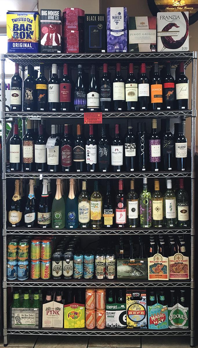 Beer and Wine Rack
