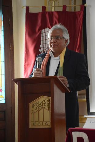 M. en C. Arturo España Caballero, jefe de la Sección de Estudios de Posgrsdo e Investigación ESIA TEC-IPN