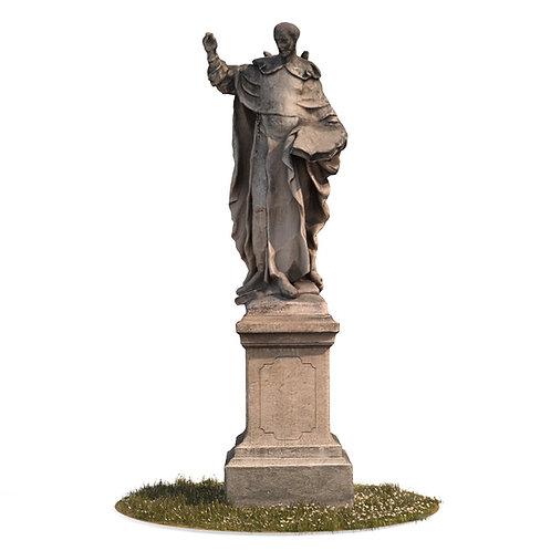 3Dscan 3Dpeople 3Dmodel realistic sculpture baroque statue abstract art modern human man character vray max fbx obj jpg