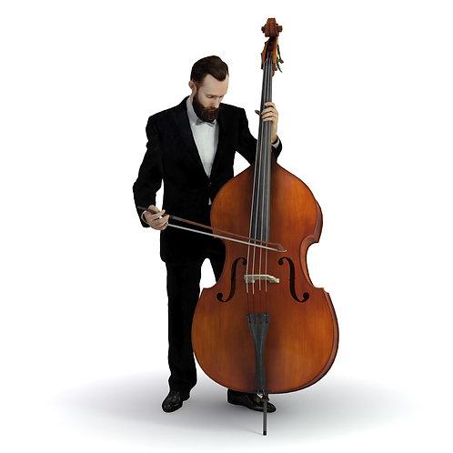 3D Musician 036