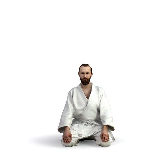 3D Man Sport Taekwondo 007 | 3d model | 3d scan | bonboniere3d