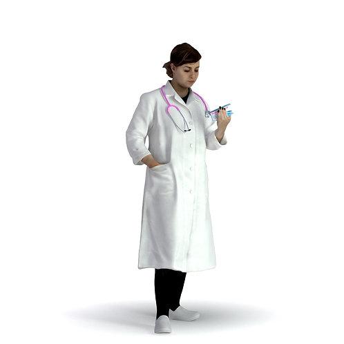 3D Doctor 003 | 3d model | 3d scan | bonboniere3d