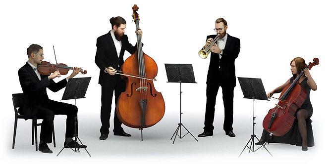 3D Quartet 003 | 3d model | 3D scan