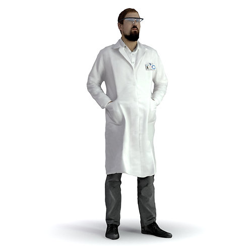 3D Scientist 024 | 3d model | 3d scan | bonboniere3d