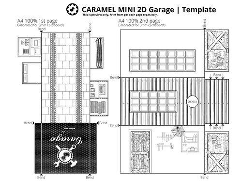 CARAMEL MINI 2D Garage