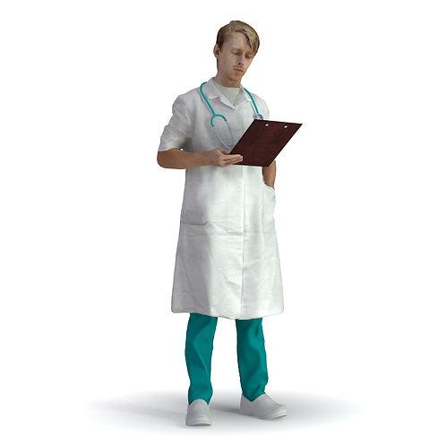 3D Doctor 020 | 3d model | 3d scan | bonboniere3d
