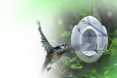 printed nest 3dprint birdfeeder bird feeder stl download 4.5
