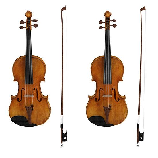 3Dscan3Dmodel realistic instrument violintrumpet guitar pianovray 3d studio max max fbx obj