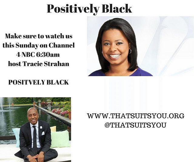 See our story this Sunday!!! #Nbc_#Positivelyblack _#Thatsuitsyou _#Channel4 _#Sunday
