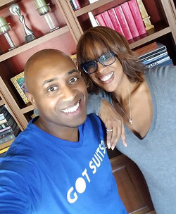 Thank you so much for the invite and for the awesome donations__You are a true gem__gayleking__oprah