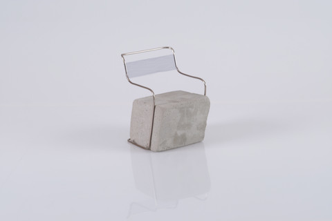'Grounded' Outdoor Chair