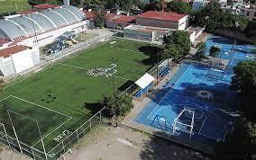 Unidad Deportiva Paseos De San Miguel, una de las más concurridas del municipio.