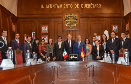 Una relación traducida en hechos de la mano del programa de hermanamientos entre Querétaro y España.