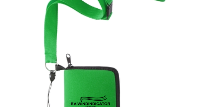 Small bag to take your windindicator, GREEN only