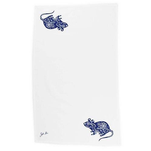 Field Mouse Tea Towel