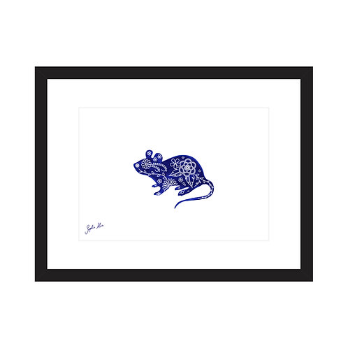 Field Mouse Screen Print
