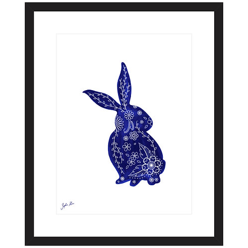 Rabbit Screen Print