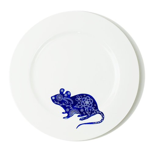 Field Mouse Dinner Plate