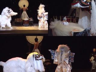 獅子舞の新演目「双獅子神舞」