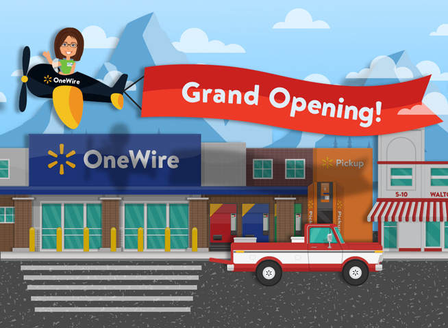 OneWire Grand Opening