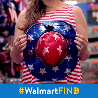Go festive or go home, that's our mantra. Which hat puts stars in your eyes? #WalmartFind