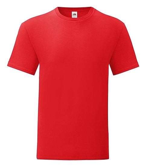 Röd T-shirt - Fruit of The Loom