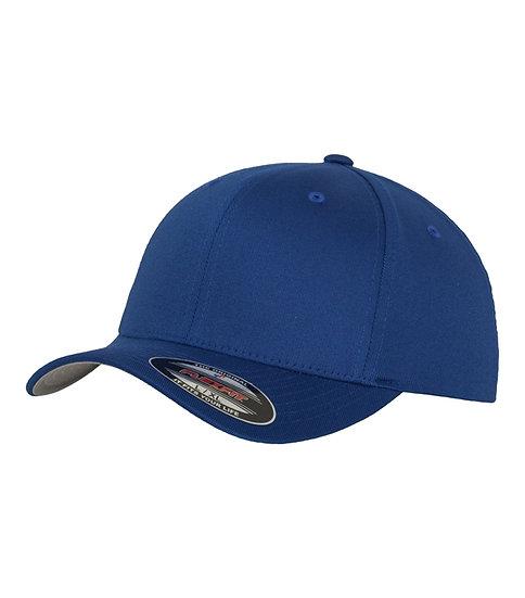 Kungligt blå Yupoong Flexfit Fitted Baseball keps