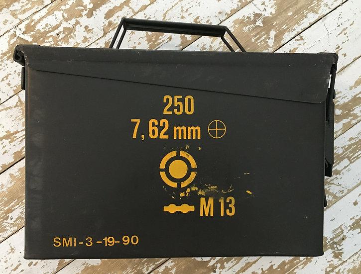 Rostig ammunitionslåda, M19A, Kaliber .30 / 7.62