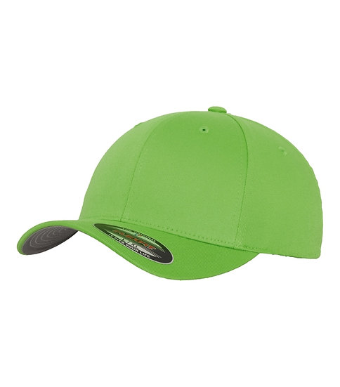 Neongrön Yupoong Flexfit Fitted Baseball keps