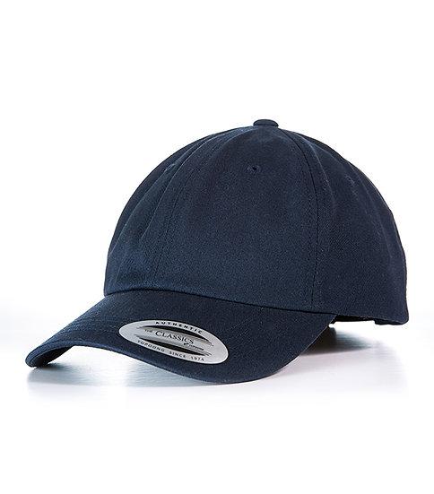 Marinblå Yupoong Dad Hat Baseball Strap Back Keps