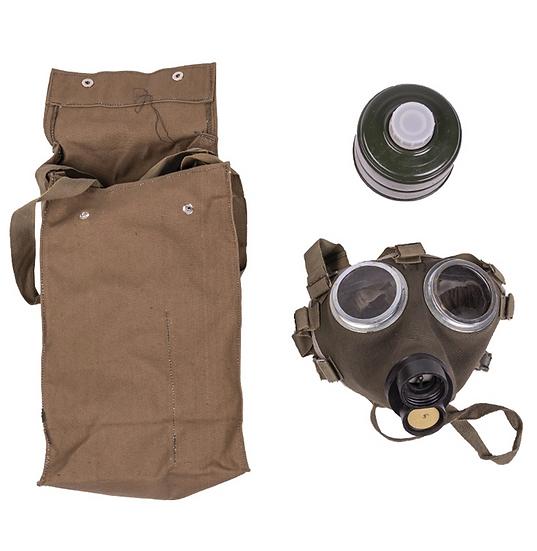 Skyddsmask / gasmask M75 med filter och väska