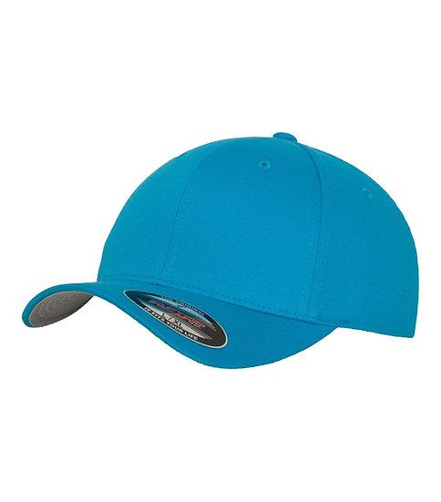Ocean blå Yupoong Flexfit Fitted Baseball keps