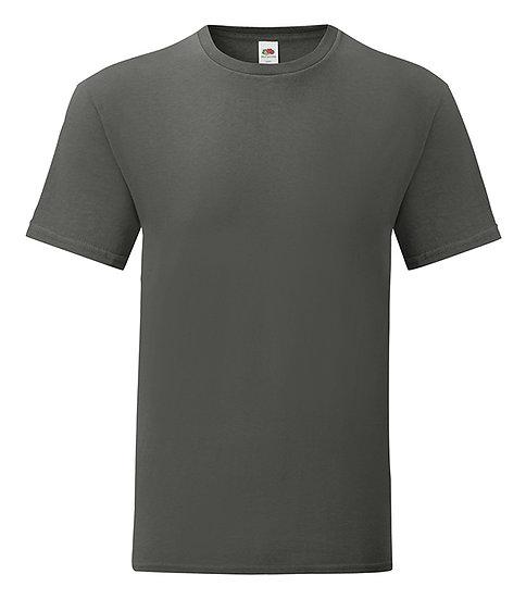Graphite grå T-shirt Fruit of The Loom