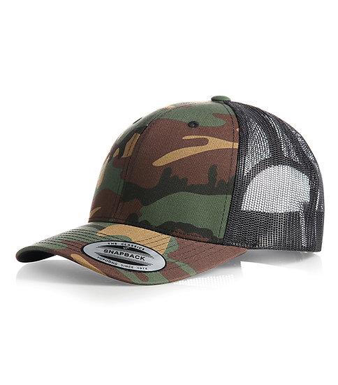 Retro Trucker Cap / keps kamoflage / camouflage
