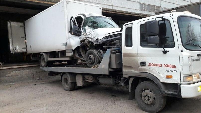 перевозим фургон Эвакуатор-Помогатор