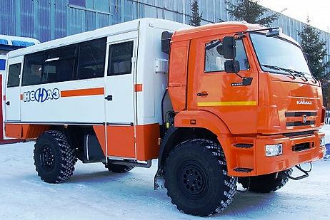 Вахтовый автобус Камаз