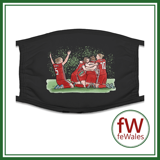 Wales Women Face Mask